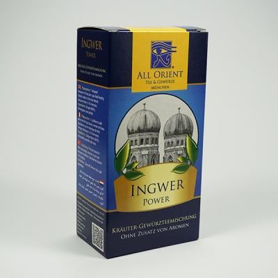 Ingwer-Power
